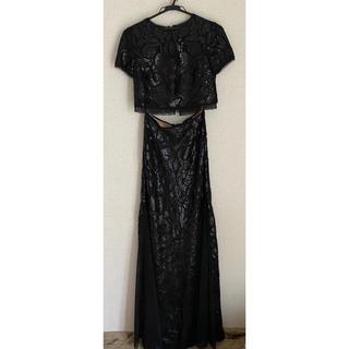 ビーシービージーマックスアズリア(BCBGMAXAZRIA)のBCBGMAXAZRIA 長いドレス(ロングドレス)