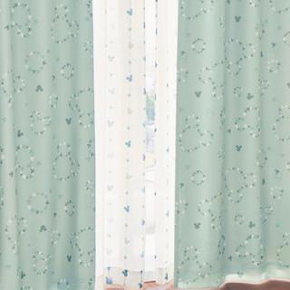 ベルメゾン(ベルメゾン)のミッキーカーテン遮光.遮熱.防音(カーテン)