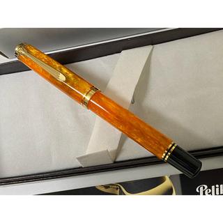 Pelikan - ペリカン万年筆 スーべレーン M600  ヴァイブラントオレンジ 中古美品