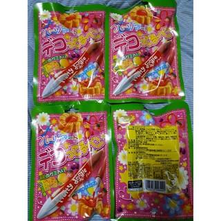 デコってるペン 4袋(菓子/デザート)