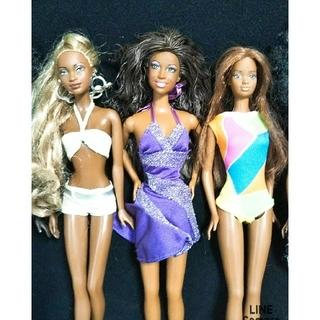 バービー(Barbie)のMiss Black Universe バービー人形 10体セット(ぬいぐるみ/人形)