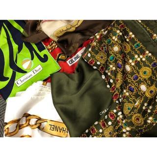 シャネル(CHANEL)のブランド スカーフ まとめ シャネル フェラガモ ディオール 他(バンダナ/スカーフ)