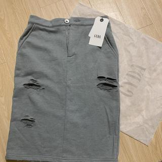 ジェイダ(GYDA)のGYDA ダメージスウェットスカート(ひざ丈スカート)