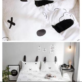 イケア(IKEA)のミッフィー枕カバー2枚セット(枕)