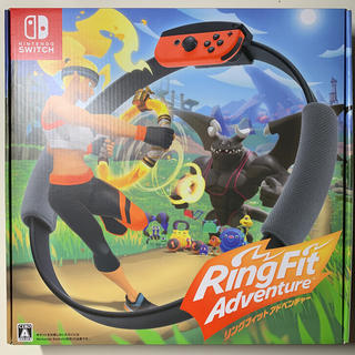 ニンテンドースイッチ(Nintendo Switch)のリングフィットアドベンチャー 任天堂 Switch(家庭用ゲームソフト)