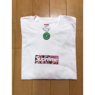 シュプリーム(Supreme)のシュプリーム 村上隆 コラボ ボックスロゴ XLサイズ(Tシャツ/カットソー(半袖/袖なし))