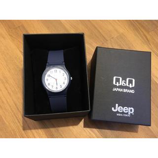 ジープ(Jeep)の【新品・非売品】JEEP ジープ ノベルティ Q&Q リストウォッチ 腕時計(ノベルティグッズ)