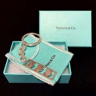 ティファニー(Tiffany & Co.)のTiffany & Co. ティファニー ハートキーリング(キーホルダー)