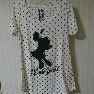 ディズニー(Disney)のミニーマウス トップス(カットソー(半袖/袖なし))