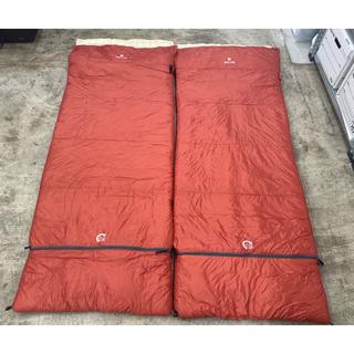 スノーピーク(Snow Peak)のsnow peak 寝袋 セパレートシュラフ オフトンLX BD-102(寝袋/寝具)