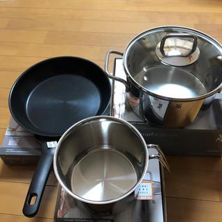 ヴェーエムエフ(WMF)の専用IH対応鍋とフライパン3点セット(鍋/フライパン)