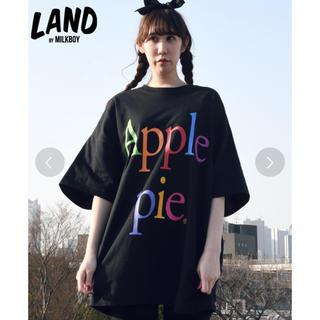 ミルクボーイ(MILKBOY)のMILKBOY Apple pie Tシャツ ブラック ミルクボーイ  (Tシャツ/カットソー(半袖/袖なし))