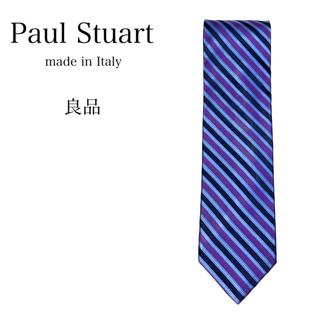 ポールスチュアート(Paul Stuart)の★【良品】Paul Stuart ネクタイ 日本製 レジメンタル柄(ネクタイ)