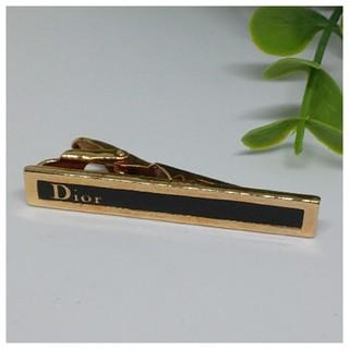 Dior - ◎セール◎ Dior ディオール ネクタイピン メンズ ブラック ゴールド