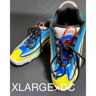 エクストララージ(XLARGE)の美品 XLARGE×DC SHOES エクストララージ dc スニーカー (スニーカー)