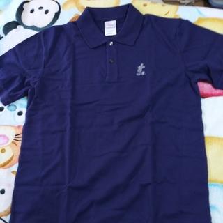 ディズニー(Disney)の《値下げ》ミッキーマウス:ポロシャツ(men's*ネイビー)(ポロシャツ)
