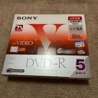 ソニー(SONY)のSONY DVD-R 5pack(その他)