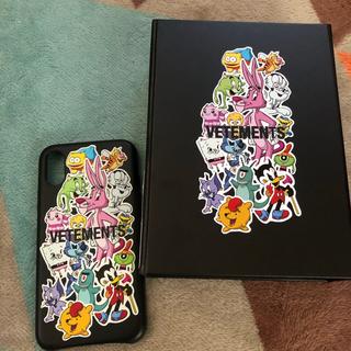 バレンシアガ(Balenciaga)のVETEMENTS iPhoneXS レザーケース(iPhoneケース)