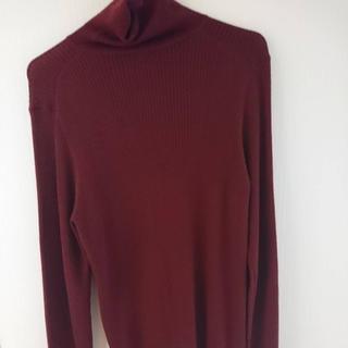 ユニクロ(UNIQLO)のユニクロ UNIQLO ハイネック ニットセーター (ニット/セーター)