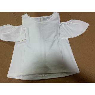 ダズリン(dazzlin)の西野カナ着用 オフショル(カットソー(半袖/袖なし))