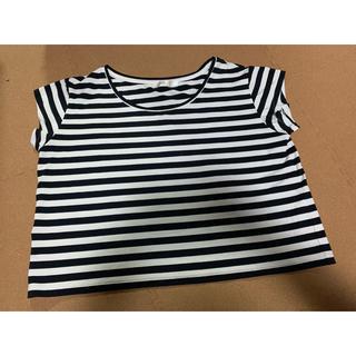 アズールバイマウジー(AZUL by moussy)のボーダーT(Tシャツ(半袖/袖なし))