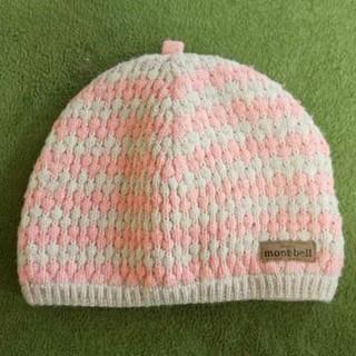 mont bell - ベビー 帽子 mont-bell