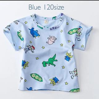 トイストーリーTシャツ ブルー 120サイズ(Tシャツ/カットソー)