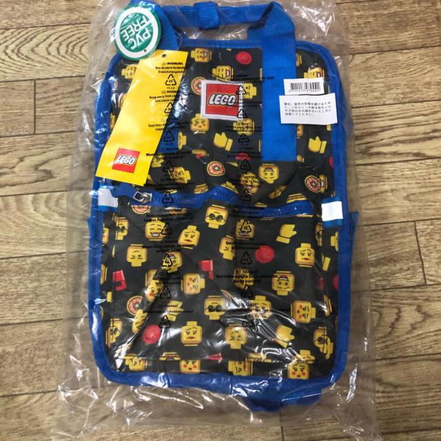 Lego(レゴ)のLEGO フェイス リュック レゴ キッズ/ベビー/マタニティのこども用バッグ(リュックサック)の商品写真