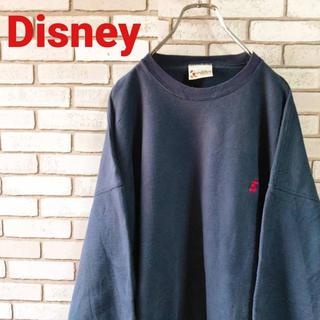 ディズニー(Disney)のDisney ディズニー スウェット ワンポイント刺繍ロゴ 2XL USA (スウェット)