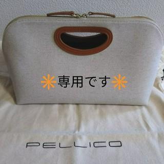 ペリーコ(PELLICO)の【美品】 PELLICO ANELLI バック(ハンドバッグ)