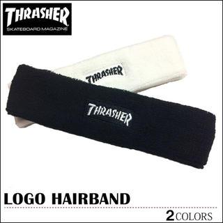 スラッシャー(THRASHER)のTHRASHER スラッシャー ヘアバンド ブラック 新品 未使用(その他)