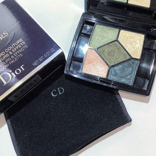 ディオール(Dior)のディオール◆サンククルール#456アイシャドウパレットグリーンブルー系(アイシャドウ)