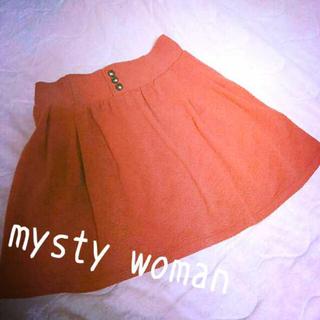 ミスティウーマン(mysty woman)の【mysty woman】美品☆スカート(ひざ丈スカート)
