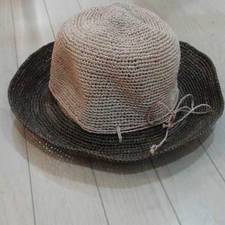 ムジルシリョウヒン(MUJI (無印良品))の無印良品 ハット 日焼け防止 ラフィア帽子(麦わら帽子/ストローハット)