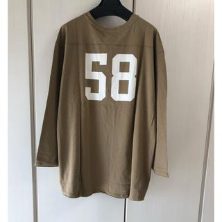 アングリッド(Ungrid)の新品 ナンバリングビッグロングスリーブTee(Tシャツ(長袖/七分))