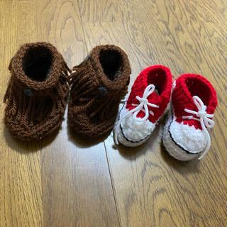 ベビー 毛糸 ブーツ ・靴(その他)