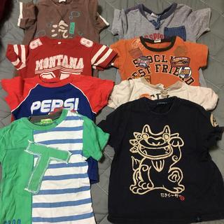 ティンカーベル(TINKERBELL)の110センチ男の子Tシャツセット(Tシャツ/カットソー)