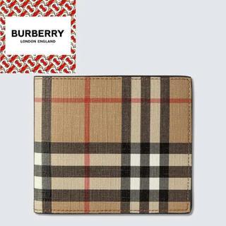 バーバリー(BURBERRY)のBURBERRY フォト フォルダー チェック ウォレット(折り財布)