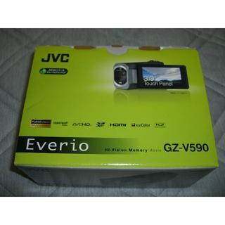 ケンウッド(KENWOOD)のほぼ未使用 JVC ビデオカメラ(ビデオカメラ)