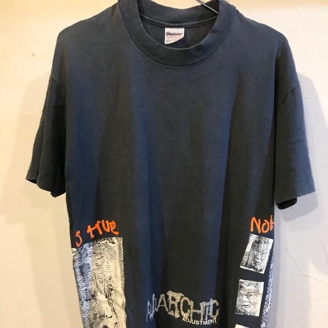 ANARCHIC ADJUSTMENT(アナーキックアジャストメント)の期間限定値下げ アナーキックアジャストメント Tシャツ Lサイズ メンズのトップス(Tシャツ/カットソー(半袖/袖なし))の商品写真