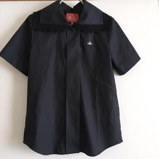 ヴィヴィアンウエストウッド(Vivienne Westwood)の新品 Vivienne Westwood レースカラー 半袖 ブラウス(シャツ/ブラウス(半袖/袖なし))