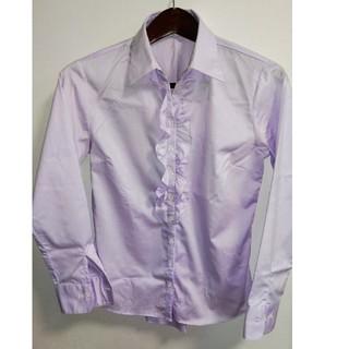 パーソンズ(PERSON'S)のパーソンズ フリル付き長袖シャツ(シャツ/ブラウス(長袖/七分))