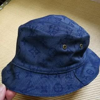 ルイヴィトン(LOUIS VUITTON)のルイヴィトン ハット モノグラムデニム帽子(ハット)