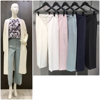 Theory luxe -  theory luxe  19SS ワイドクロップドパンツ FANDRA 38
