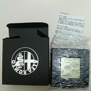 アルファロメオ(Alfa Romeo)のアルファロメオ ノベルティ 4wayクロック 時計 黒 ブラック新品(ノベルティグッズ)