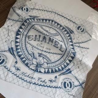 シャネル(CHANEL)の正規品 CHANEL 大判ハンカチ バンダナ スカーフ(バンダナ/スカーフ)