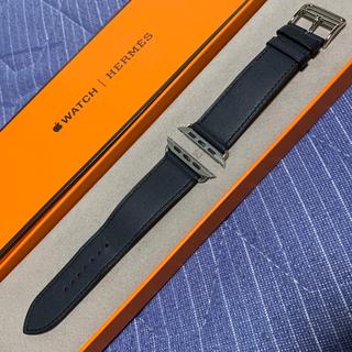 エルメス(Hermes)のApple Watch  HERMES 革ベルト 44mm(レザーベルト)
