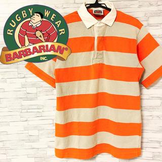バーバリアン(Barbarian)のバーバリアン ポロシャツ ラガーシャツ ボーダー(ポロシャツ)