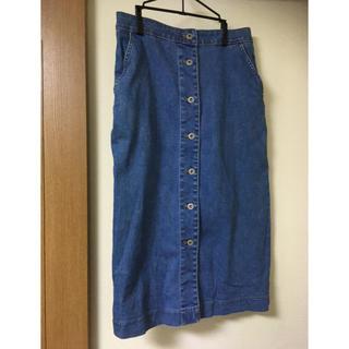 ユニクロ(UNIQLO)のUNIQLO デニムスカート 70サイズ(その他)