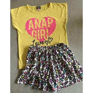 アナップキッズ(ANAP Kids)のANAPGIRLセットアップ☆(Tシャツ/カットソー)